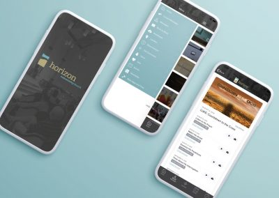 Horizon Community Church app focused on connection, communication and exploring