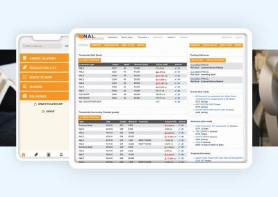 Robust Logistics Management Suite with Client Portal for NAL Company